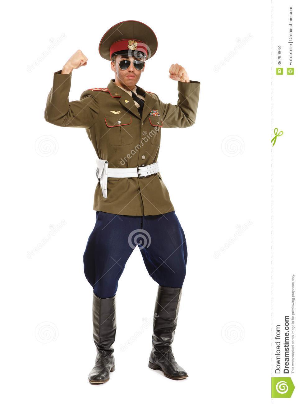 Clip Art Military Dictator.