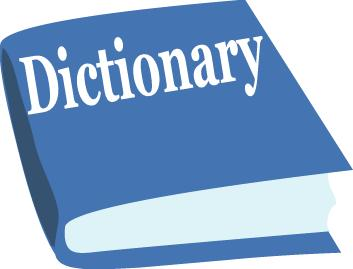 Dictionary Clipart.