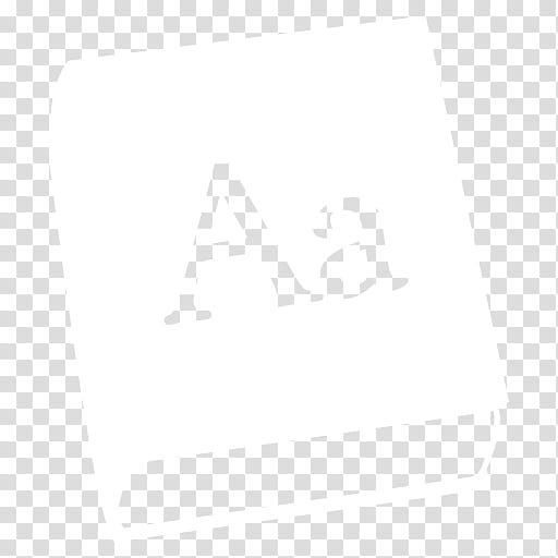 Black n White, dictionary icon transparent background PNG.