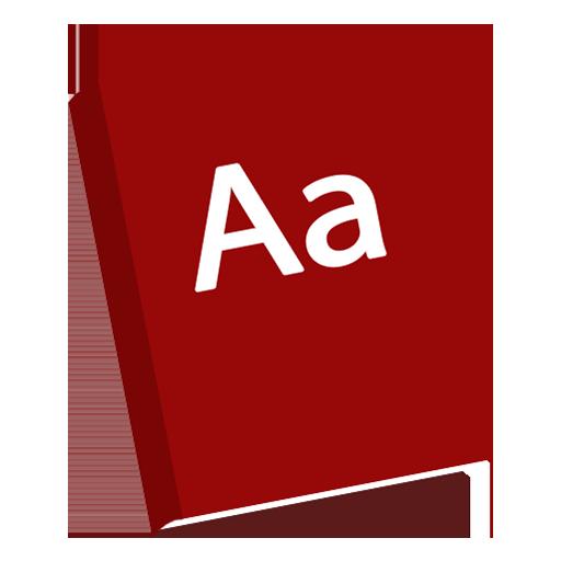 Dictionary icon.