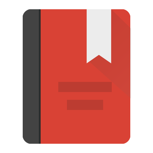 Dictionary Icon Android Lollipop PNG Image.