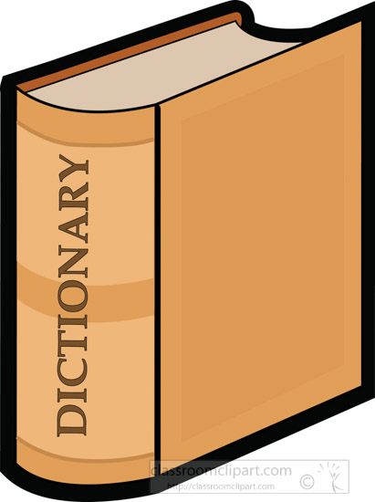 Search Results for dictionary.