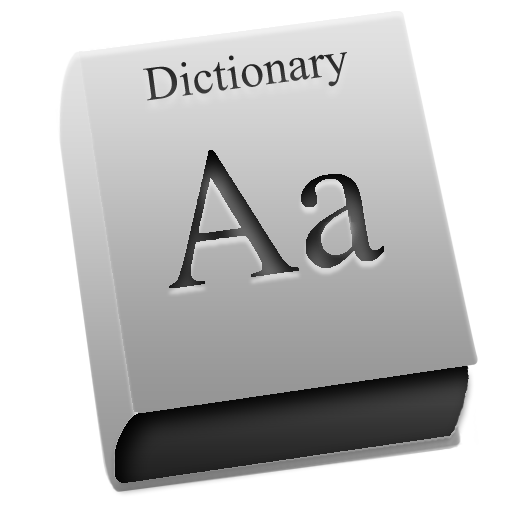 Dictionary icons, free icons in Leopard Graphite, (Icon Search Engine).