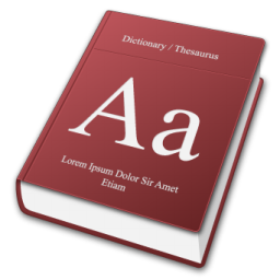 dictionary Icons, free dictionary icon download, Iconhot.com.