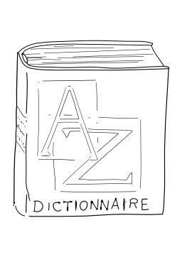 Dictionnaire clipart 9 » Clipart Station.