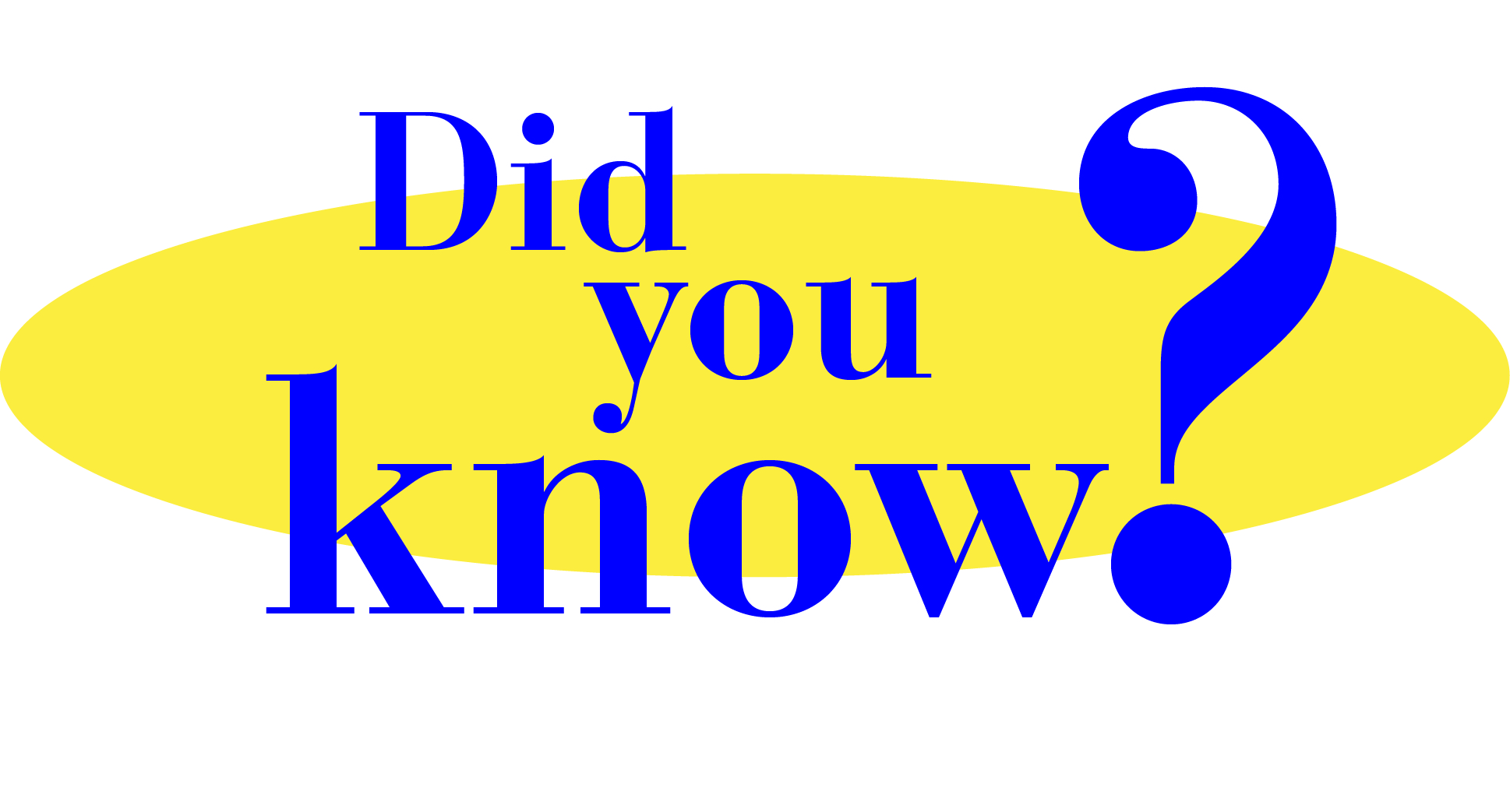 Did You Know Clipart.