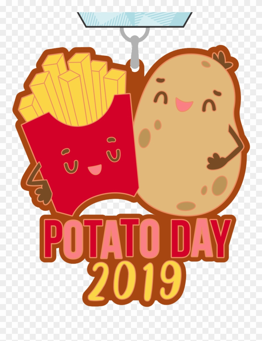 Did You Know That August 19th Is National Potato Day Clipart.