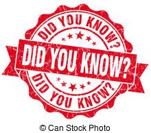 Did you know Clip Art and Stock Illustrations. 822 Did you.