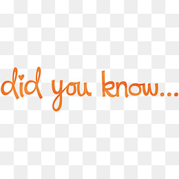 Did You Know Png, Vector, PSD, and Clipart With Transparent.