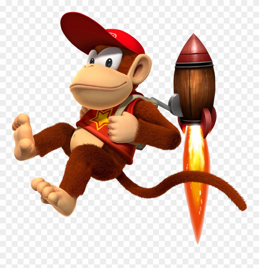 Diddy Kong Clipart (#1208863).