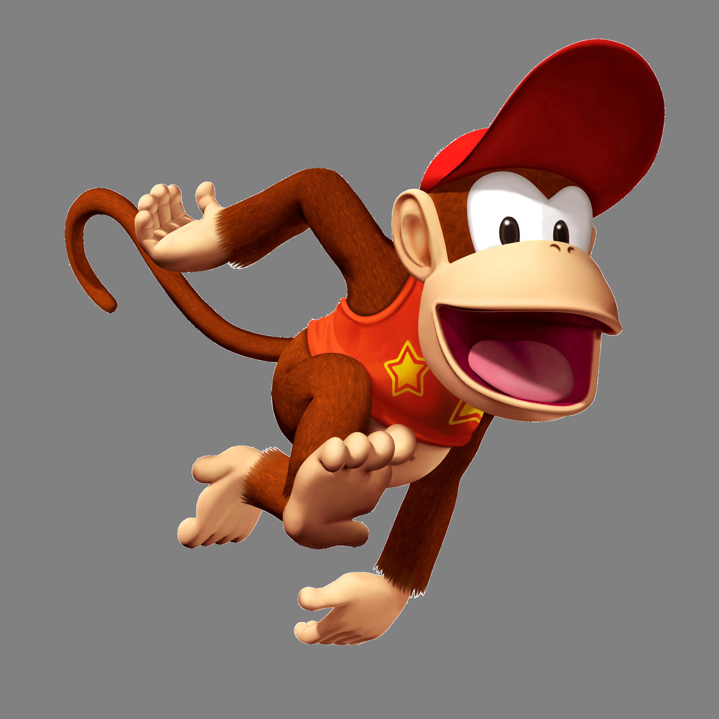 Donkey Kong PNG High Quality Image.