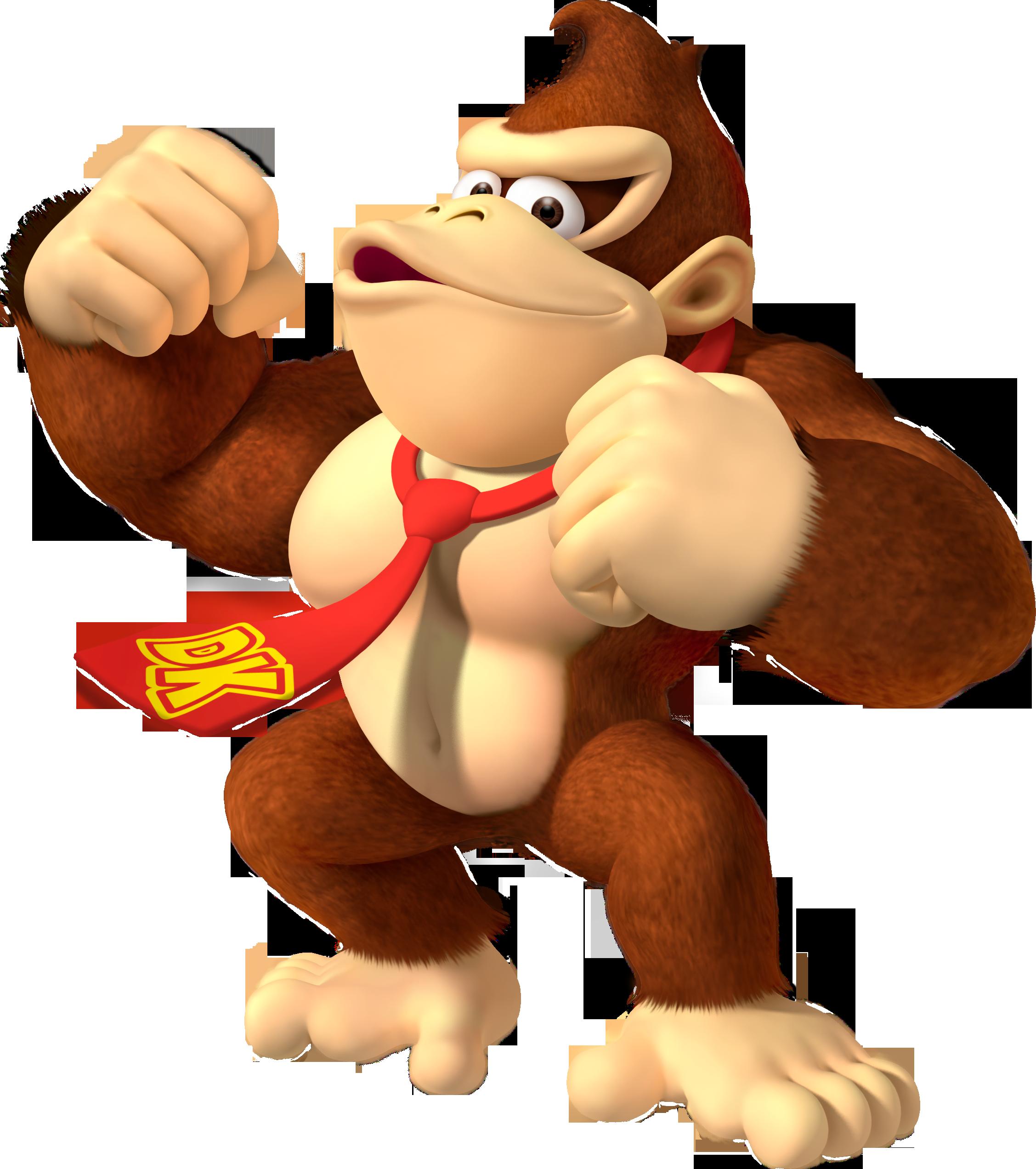 Donkey Kong PNG Transparent Images.
