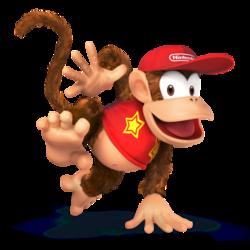 Diddy Kong (SSB4).