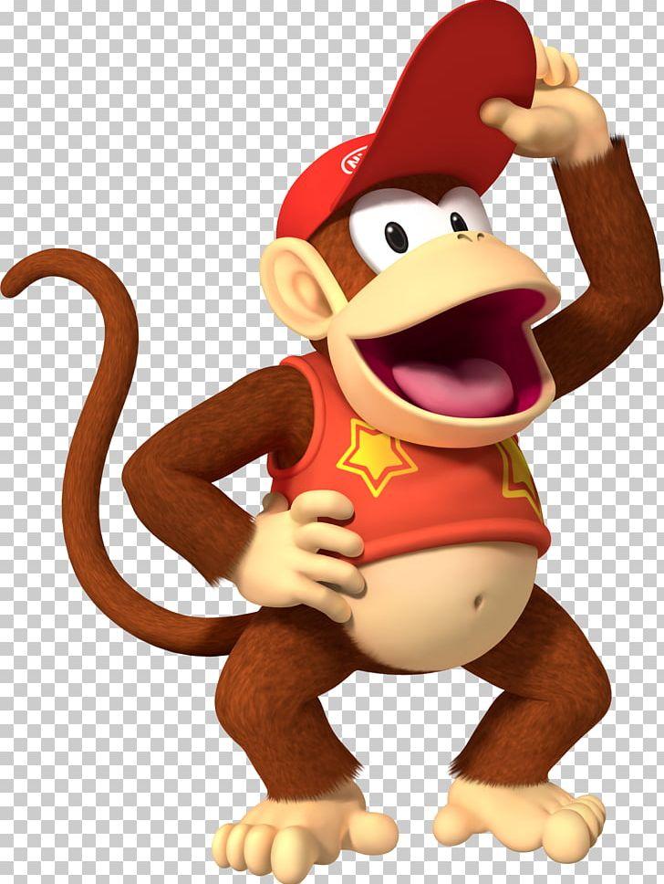 Donkey Kong Country Mario Bowser Diddy Kong PNG, Clipart, Animal.