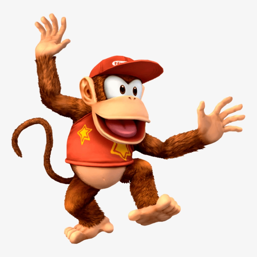 First Game Donkey Kong Country Similar Dixie Kong,.