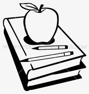 Free Books Black And White Clip Art with No Background.