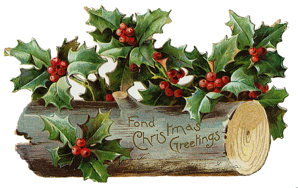 Vintage Victorian Christmas Die Cut Clip Art Day 15 The Graffical.