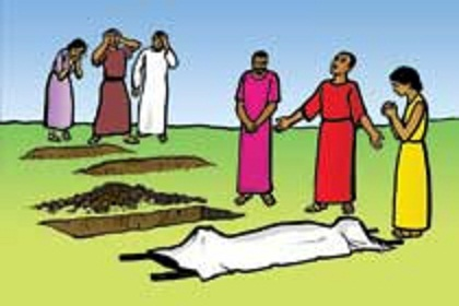 Died people clipart.