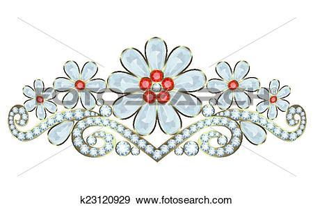 Clip Art of Diadem k23120929.