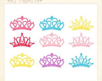 pink tiara clip art.