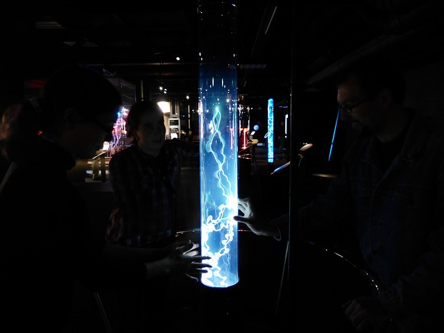 Free photo: Plasma, Plasma Plume, Plasma Lamp.