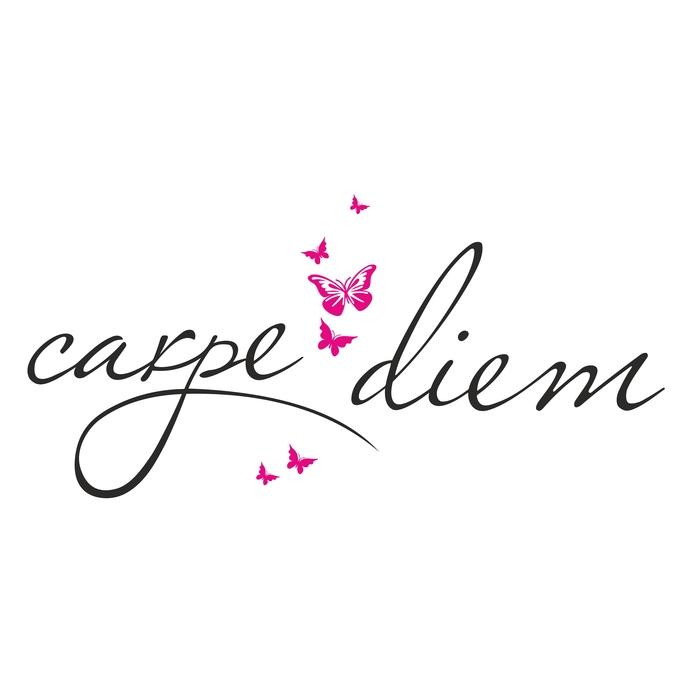 Carpe Diem Butterfly Design SVG, DXF, EPS,.