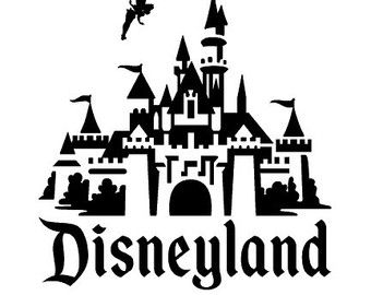 Disney castle castle clipart tinkerbell pencil and in color.
