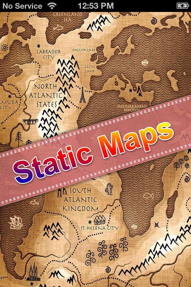 Static Maps.