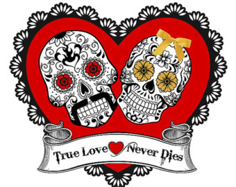 Love never dies clipart.