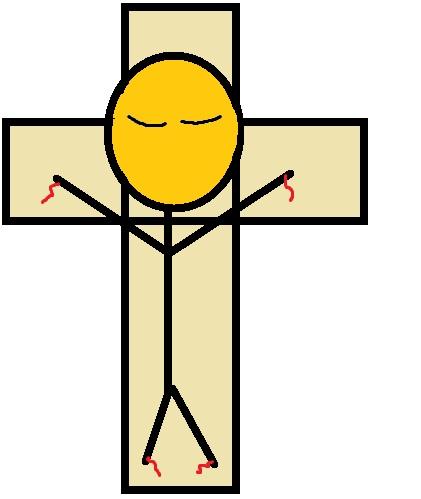 Jesus Died Clip Art.