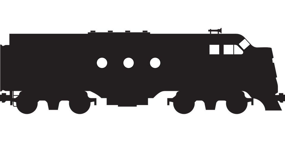 Free vector graphic: Locomotive, Train, Railway.
