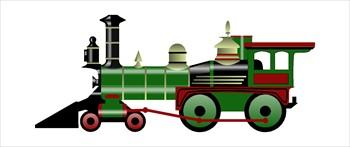 Locomotive cliparts.