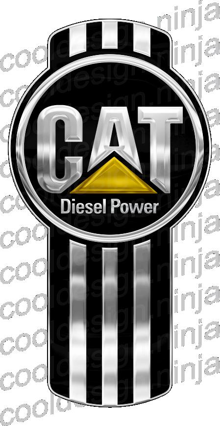 CAT Diesel Power Kenworth Emblem Skin.