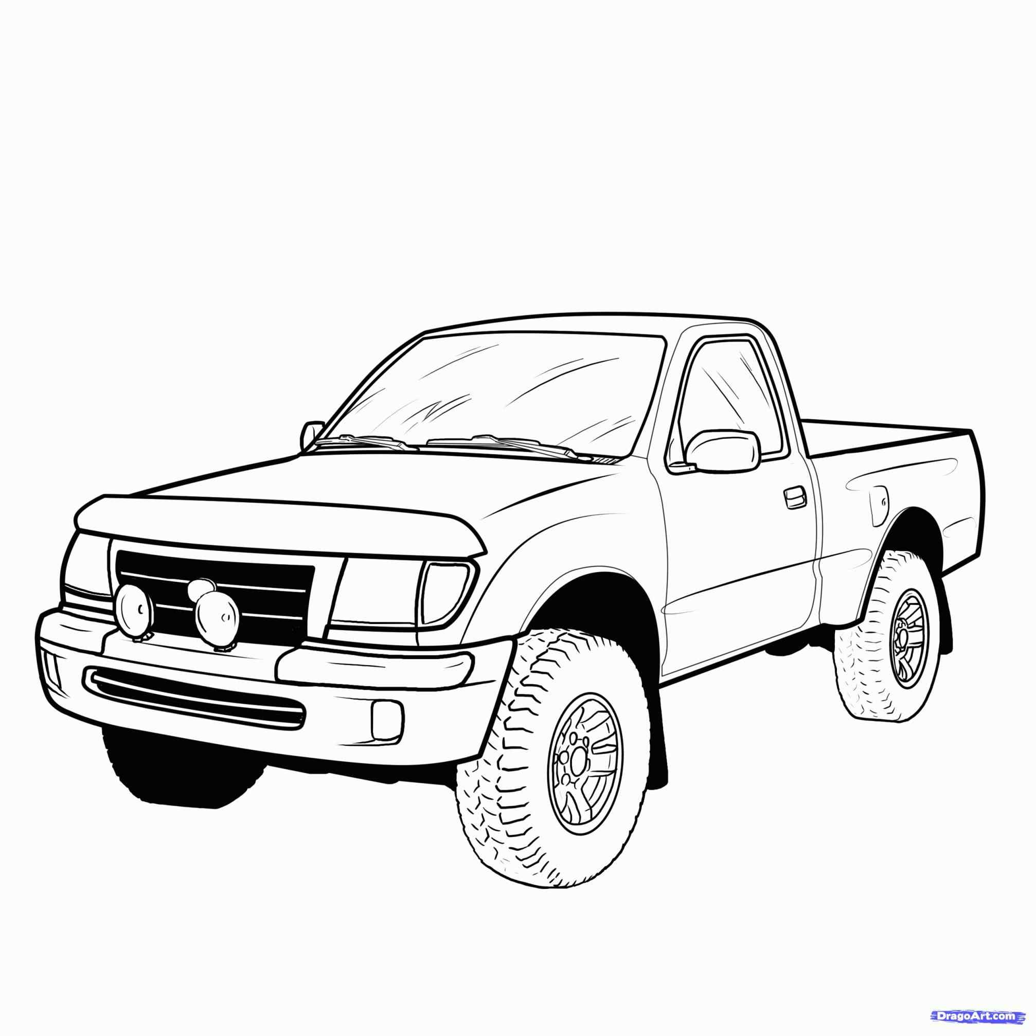 Diesel Truck Drawings at PaintingValley.com.