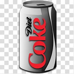 Coca cola, Diet Coke can transparent background PNG clipart.