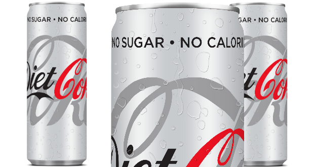 New look and feel for Diet Coke.