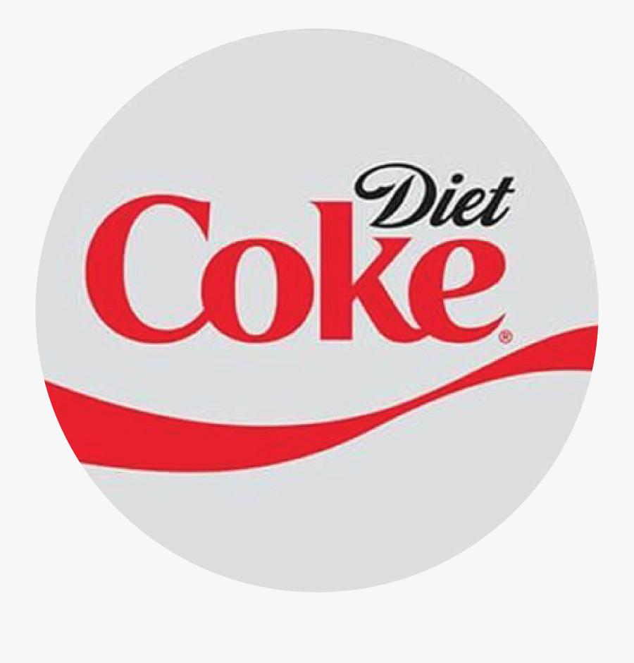 Diet Coke Circle Logo Png , Free Transparent Clipart.