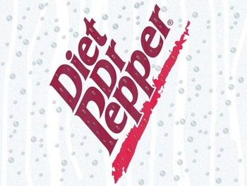 Original Labeled Diet Dr Pepper Dr.pepper Snapple.