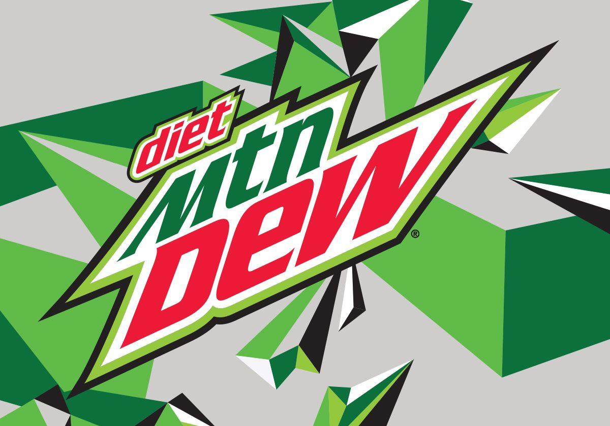 Diet Mtn Dew Logo.
