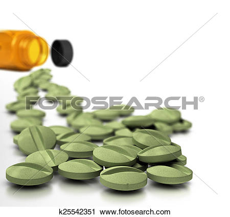 Clipart of Dietary Supplements k25542351.