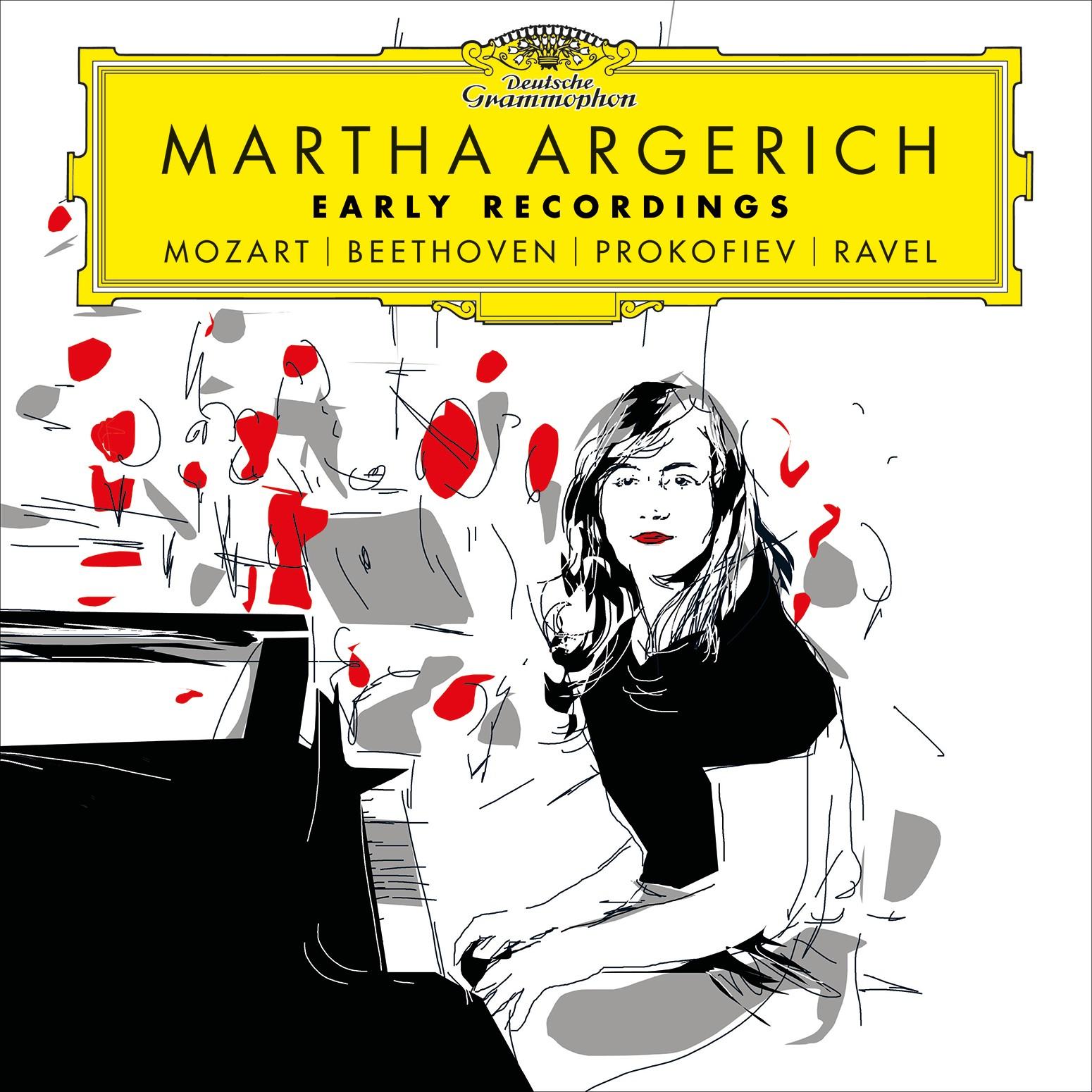 "Cuíca Dodecafónica: Martha Argerich ""Early Recordings: Mozart."