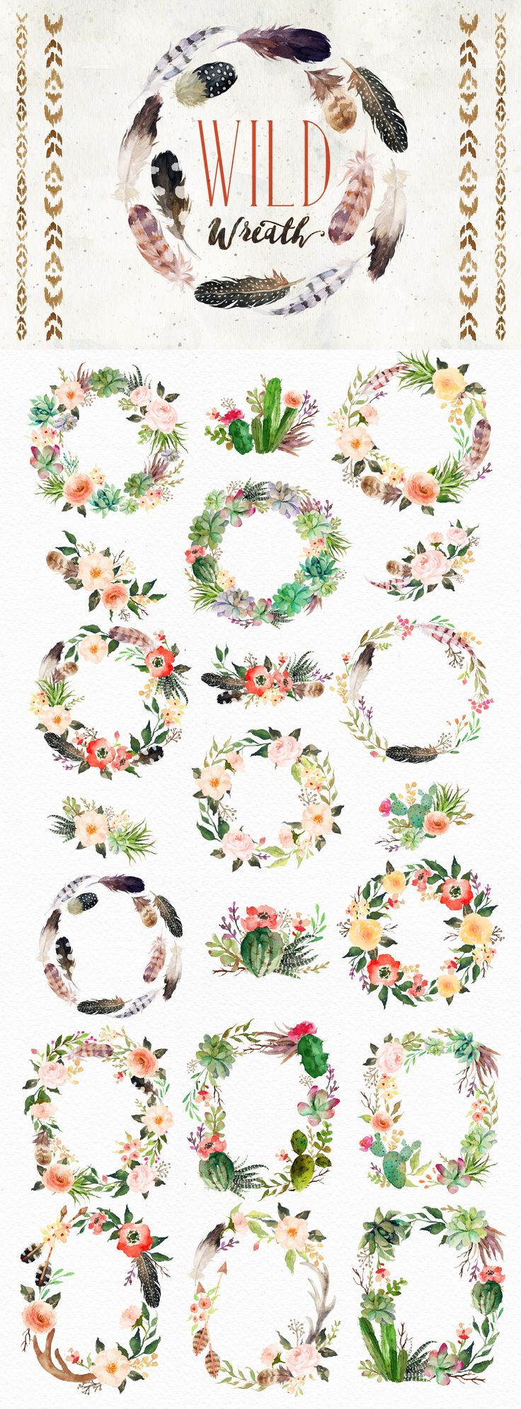 1000+ images about Need To Paint Some Wreaths on Pinterest.