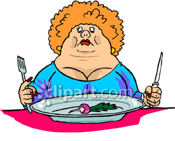 Dieting Clipart.