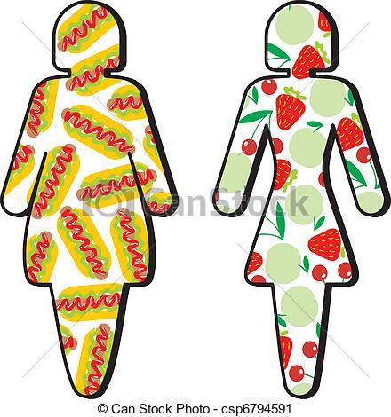 Diet Clip Art.