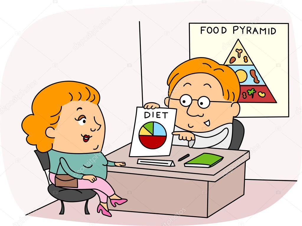 Clipart: dietitian.
