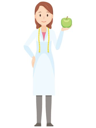 1,127 Nutritionist Stock Vector Illustration And Royalty Free.