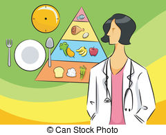 Dietitian Illustrations and Clipart. 256 Dietitian royalty free.