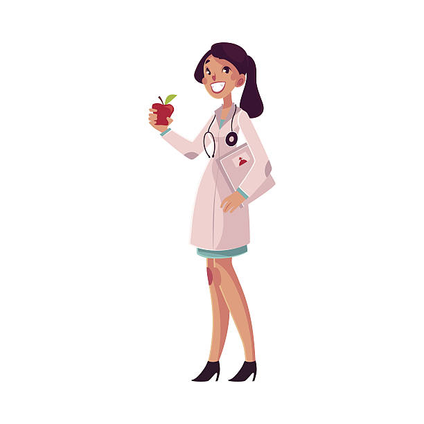 Best Dietitian Illustrations, Royalty.