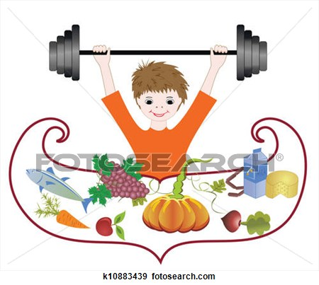 Balanced Diet Clipart.
