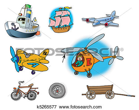 Stock Illustration of Hand drawn illustrations about diff k5265577.